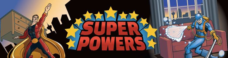 SuperPowers Showcase Banner Image