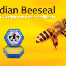 Canadian Beeseal Protects your leather